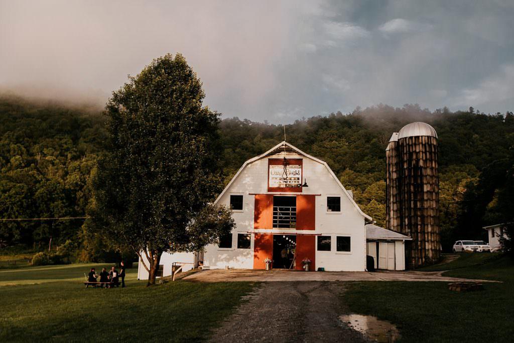Oscar Blues Reb Ranch Barn venue in Brevard NC